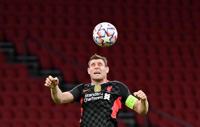 Milner in action vs Ajax