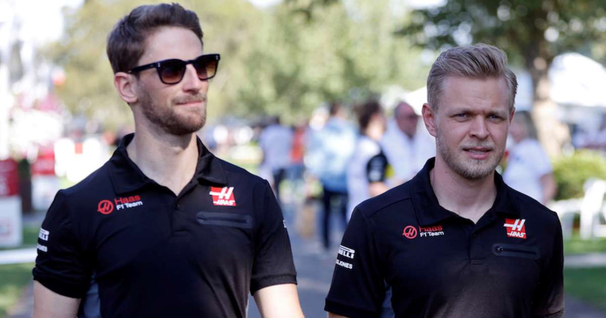 Kevin Magnussen and Romain Grosjean to leave Haas F1 at the end of the season