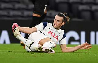 Gareth Bale in action for Spurs