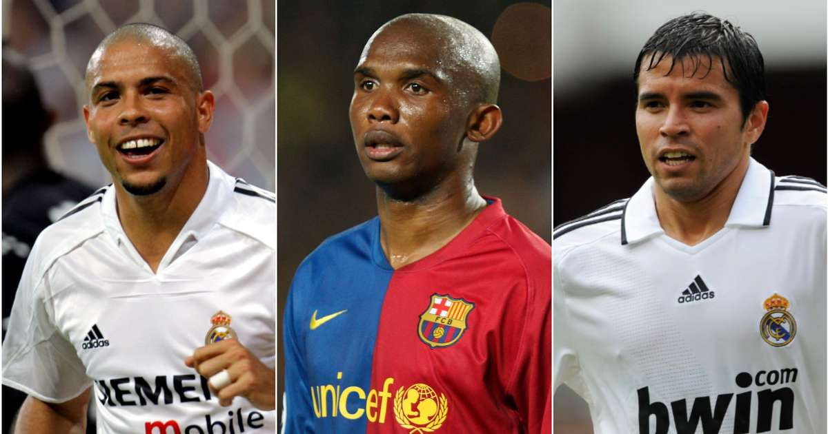 Ranking all 37 players to have played for Barcelona AND Real Madrid from worst to best