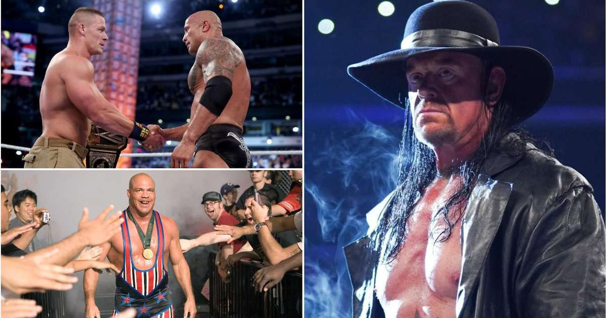 The 50 greatest WWE Superstars of the 21st century have been ranked by fans