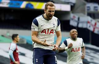 Harry Kane has been rewarded with a new card on FIFA 21