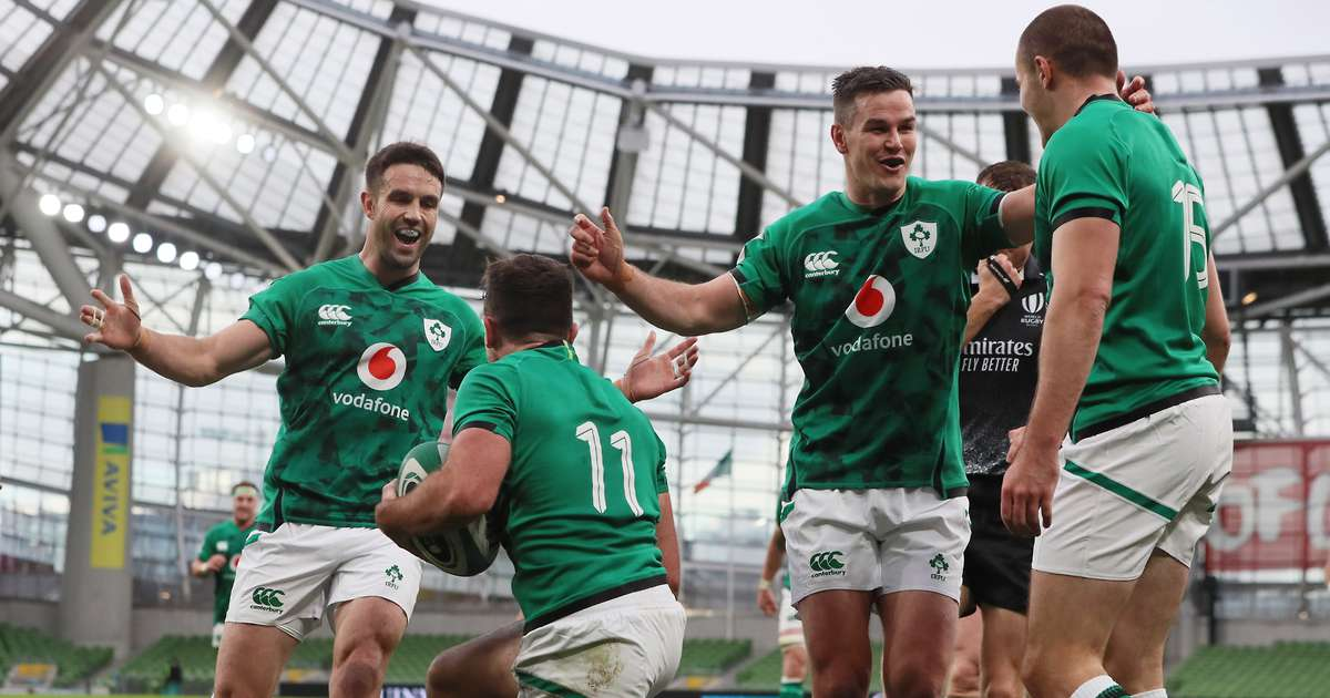 Six Nations returns as Ireland run riot against Italy to go top of the table
