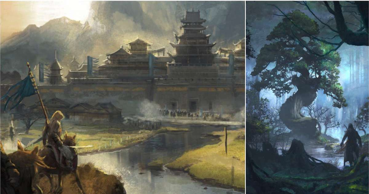Beautiful leaked concept art teases new Assassin's Creed game could be set in China