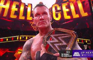 Orton wins the WWE Championship