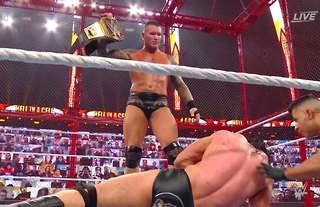 Orton is new WWE Champion