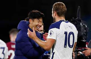 Heung-min Son and Harry Kane are football's deadliest duo right now