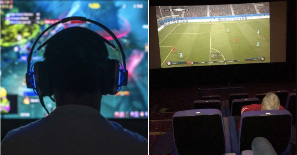 You can now rent an entire cinema screen to game on