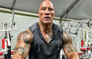 WWE legend The Rock injured himself during a workout