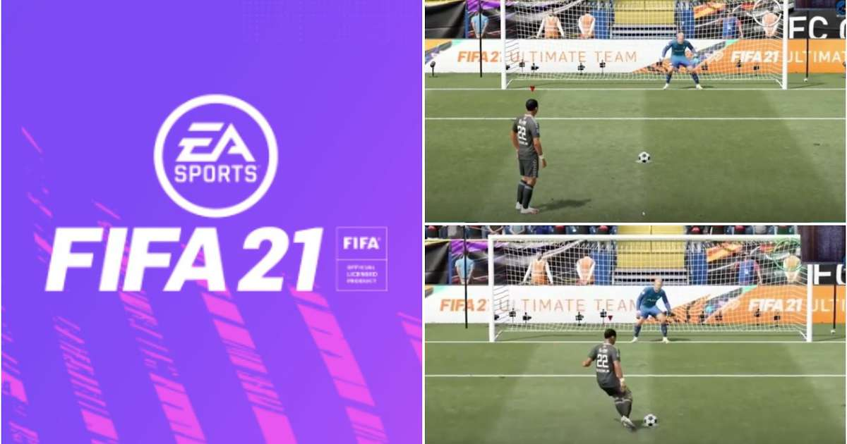 There's a glitch in FIFA 21 that means you can score EVERY penalty you take