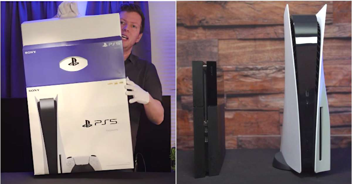 Gaming fans are unboxing the PlayStation 5 and it looks absolutely massive
