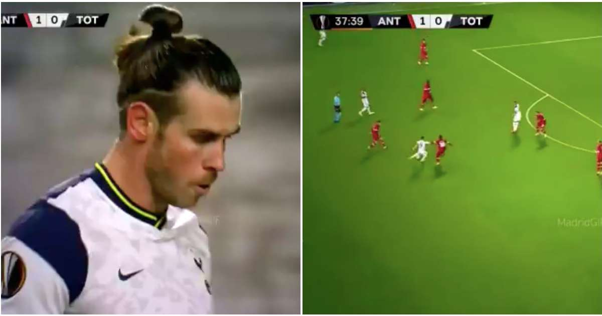 Video of Gareth Bale's performance vs Antwerp suggests Zidane might have been right all along