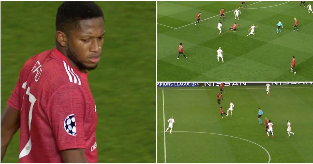 Fred's highlights in Man United's win vs RB Leipzig show he's a certified big-game player