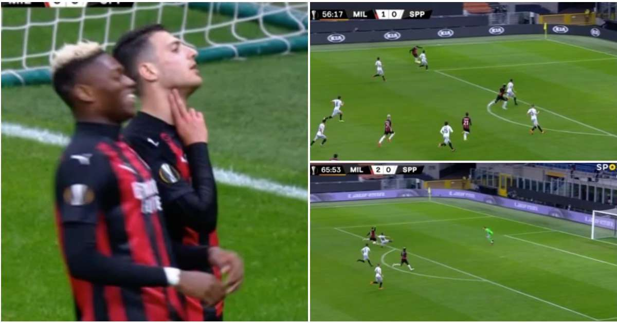 Man Utd loanee Diogo Dalot just had a wild 10 minutes with incredible assist & goal for AC Milan