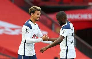 Tottenham's Dele Alli and Tanguy Ndombele