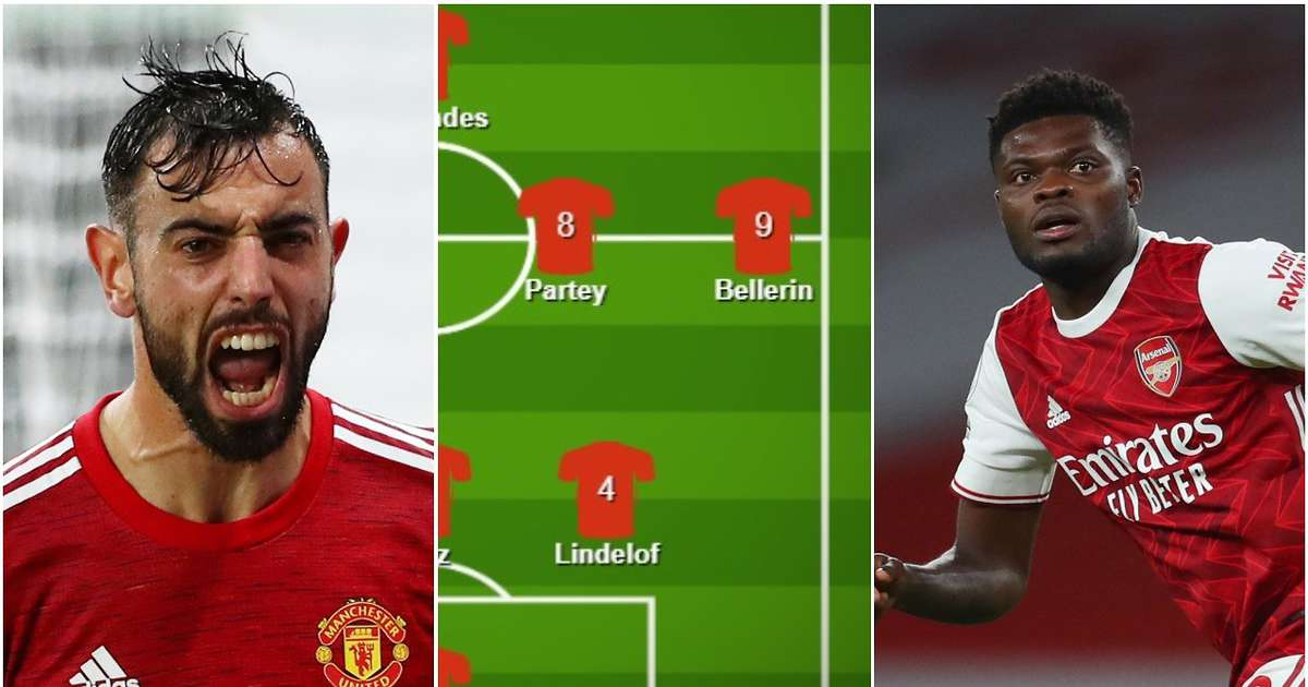 Man United and Arsenal's combined XI ahead of Premier League showdown