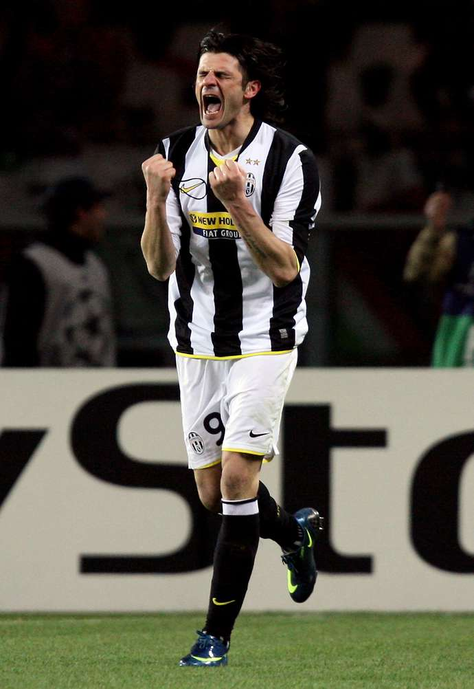 Iaquinta with Juventus