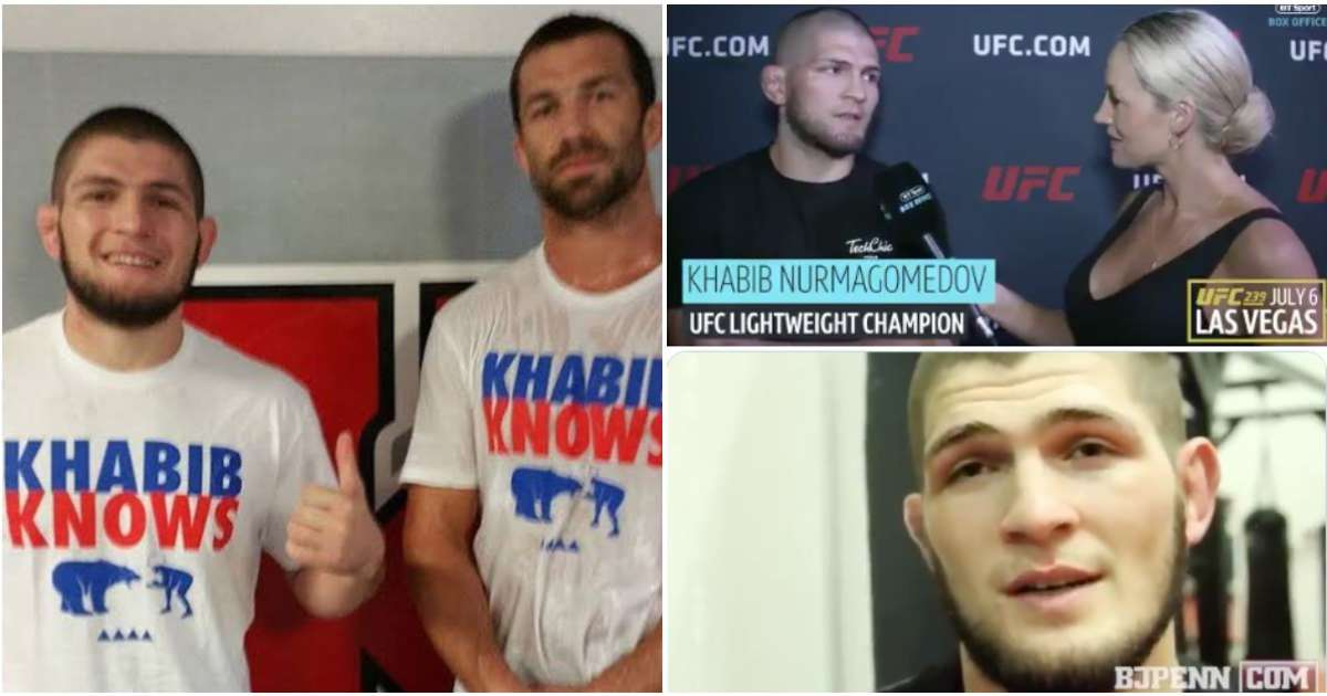 Brilliant thread of Khabib Nurmagomedov perfectly predicting the result of UFC fights has emerged