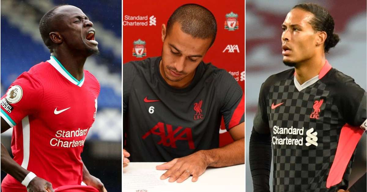 Every Liverpool player's wages for the 2020/21 season have been listed