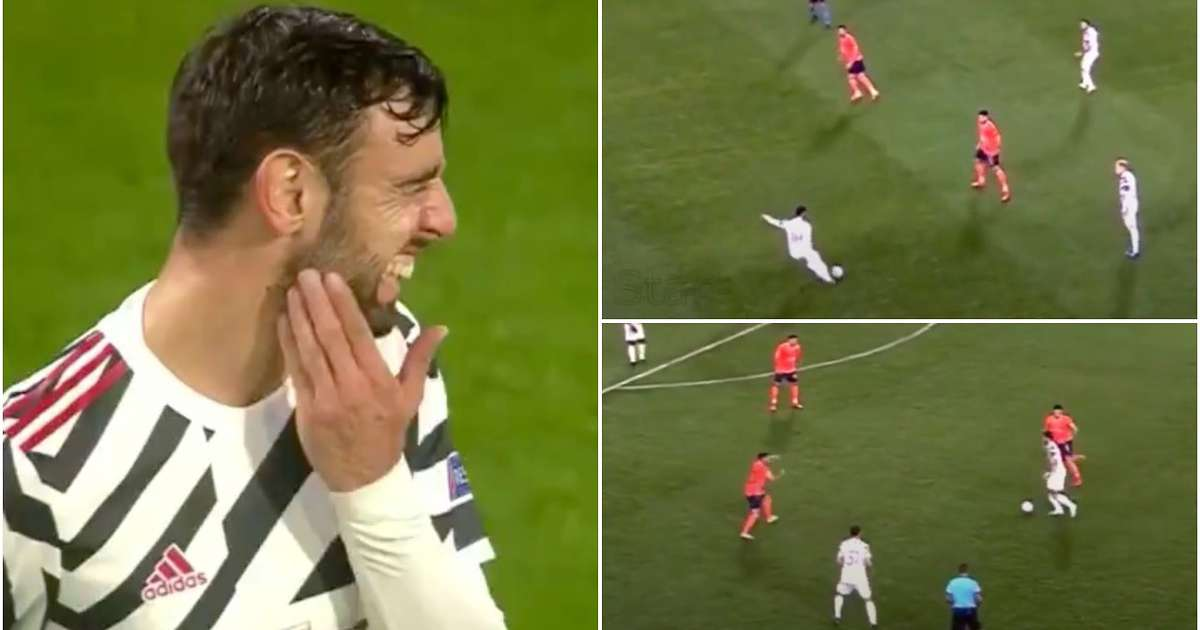 man utd lose to istanbul basaksehir video emerges of bruno fernandes performance givemesport man utd lose to istanbul basaksehir