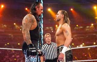 Undertaker once threatened to 'smash' HBK backstage