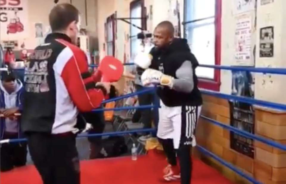 ap9fhayff8htrm https www givemesport com 1620441 mike tyson vs roy jones jr training footage emerges that could concern iron mike