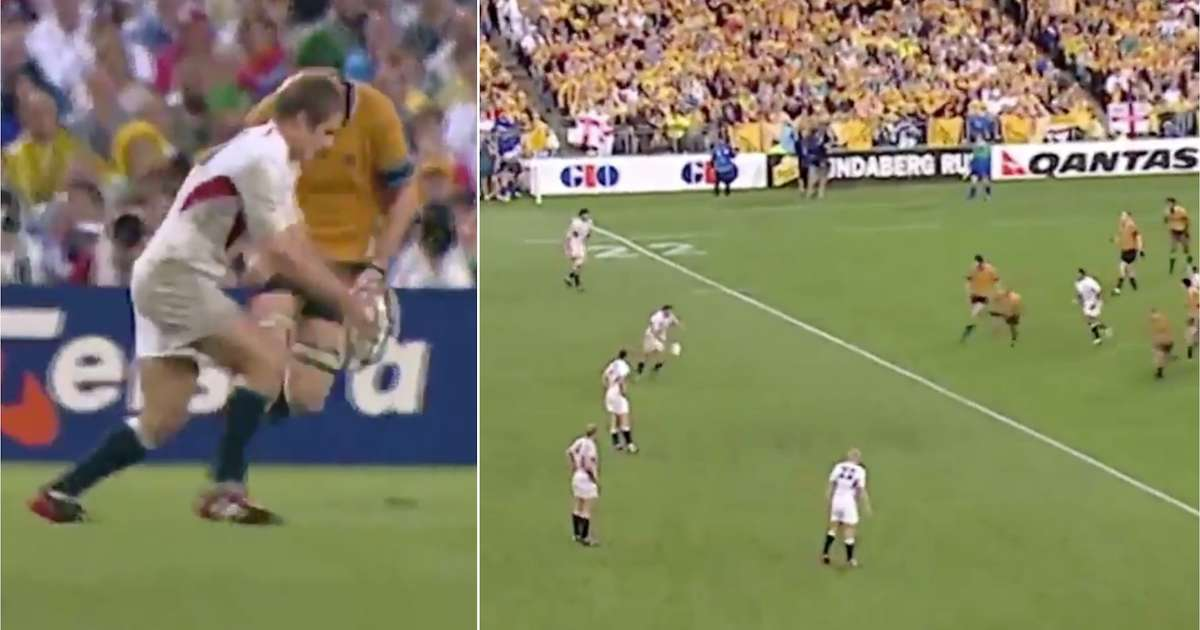Jonny Wilkinson nailed THAT World Cup-winning dropkick on this day 17 years ago