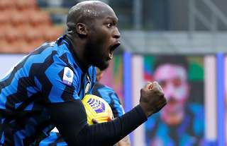 Inter Milan's Lukaku was sold by Man Utd in the summer of 2019.