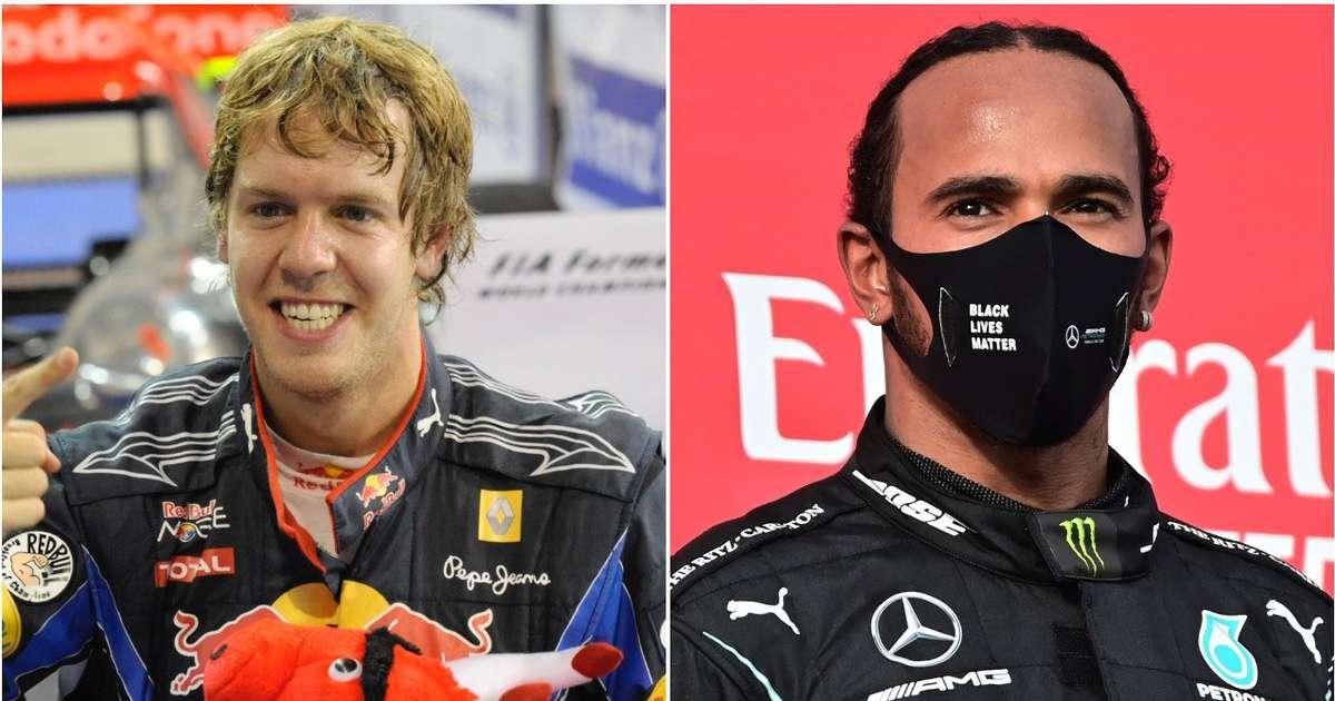 53% of Formula 1 fans think Sebastian Vettel is a better driver than Lewis Hamilton